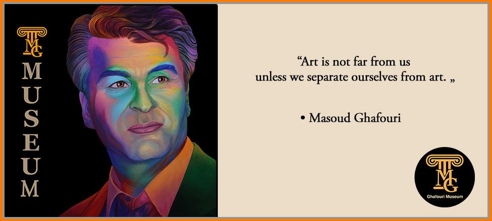 the collection art masterpieces masoud ghafouri master art